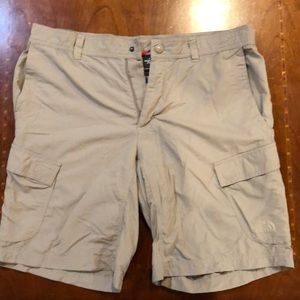 Men's North Face Rip-Stop Cargo Sorts